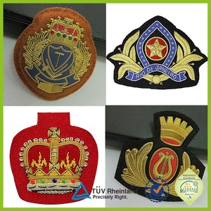 military airline navy officer cap badge for sale