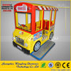 Kiddy rides game console/electronic game machine school bus, train coin operated kiddie rides