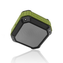 Amazon Square Sports Blue Nano Water Cube Resistant Speaker Outdoor Wireless Waterproof Speaker With Suction Cups