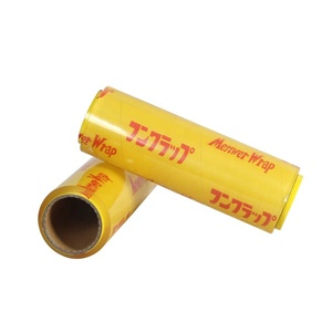 Transparent Pallet PVC Stretch Film Shrink Wrapping Roll Shipping Clear Plastic Wrap