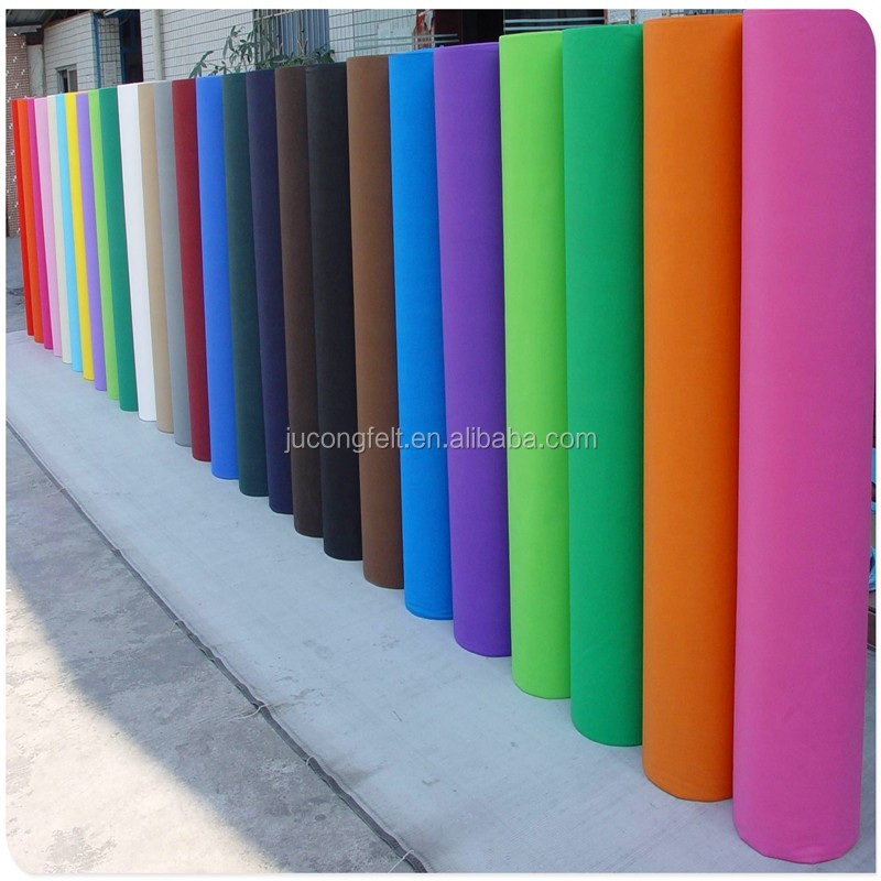 100% polyester felt,3mm felt,non-woven of polyester felt,3mm thickness,450g/m