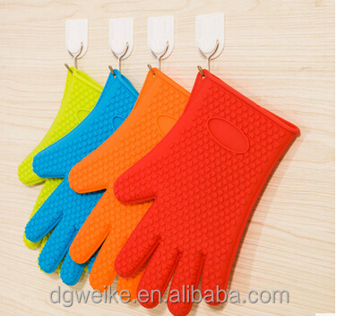 silicone oven mitt / oven cooking glove/silicone baking glove for bakery