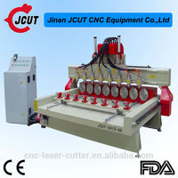 Low price easy operation vacuum table CNC engraver cutter For PCB board