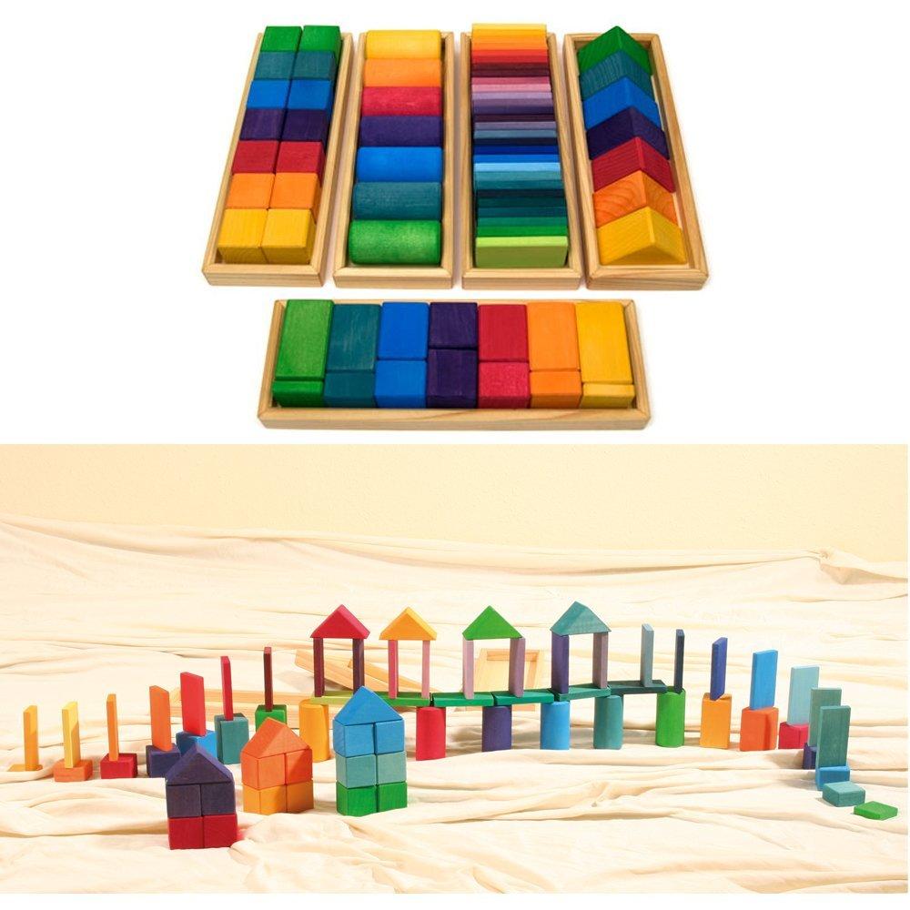 26ddd873985d Get Quotations · Grimm s Large Shapes   Colors Building Set