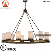 Luxury Vintage American Gold Chandelier for Interior Decoration