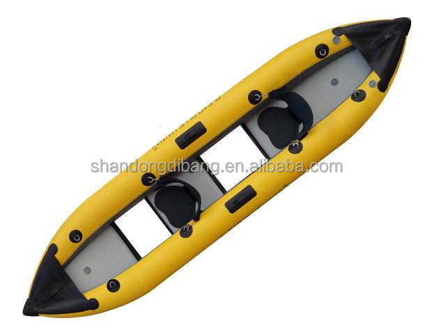 DBB18 Rafting 2-Person Rowing Inflatable Kayak , Transparency Kayak,inflatable SUP board with clear window