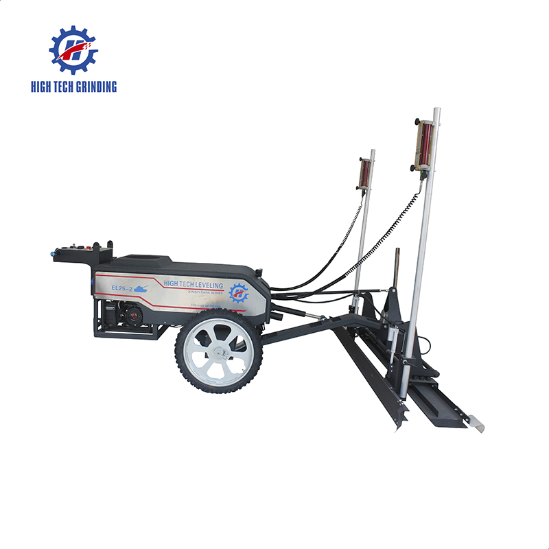 2.5 meters scraper high quality concrete laser screed machine