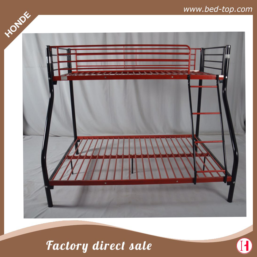 Wholesaler bunk beds metal tube bunk beds metal tube for Cheap metal bunk beds