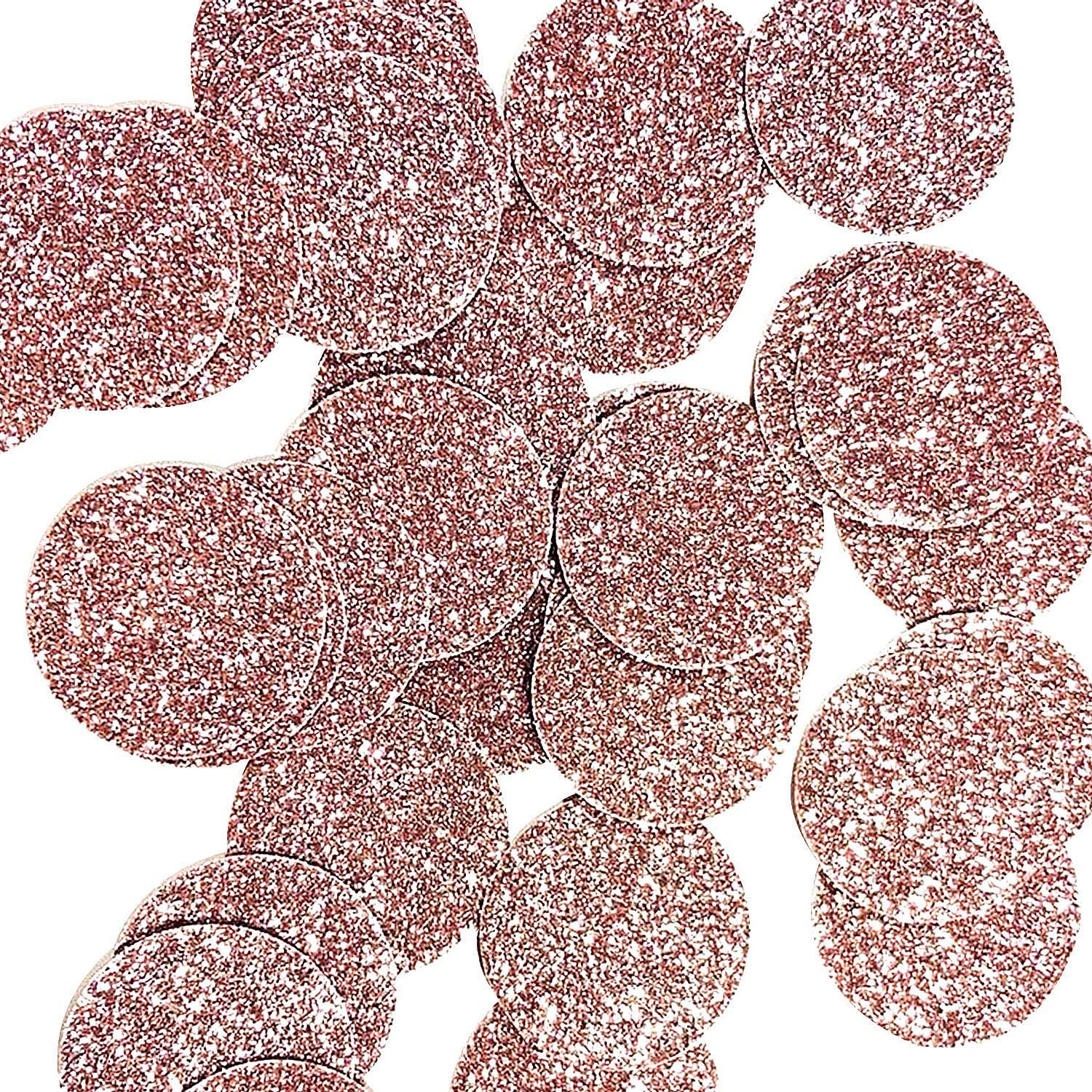 Get Quotations Maxdot 200 Pieces Glitter Circle Dots Confetti Table Decorative Supplies For Wedding Graduation Birthday Party