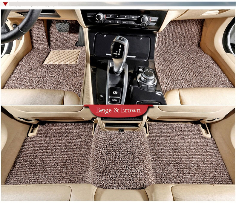PVC Material 3D Colorful Car Mat with High Quality