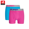 Comfortable trendy boxer brief stylish athletic fashion undergarments for men