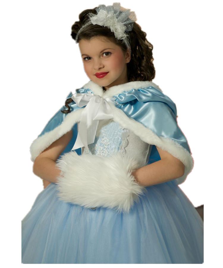 49b0a9825 Buy Warm Girl Dress Party Princess Winter Elsa Dress Anna  39 s Snow ...