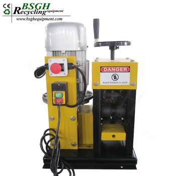 Electric Cable Making Machine Scrap Cable Granulator Peel Cables ...