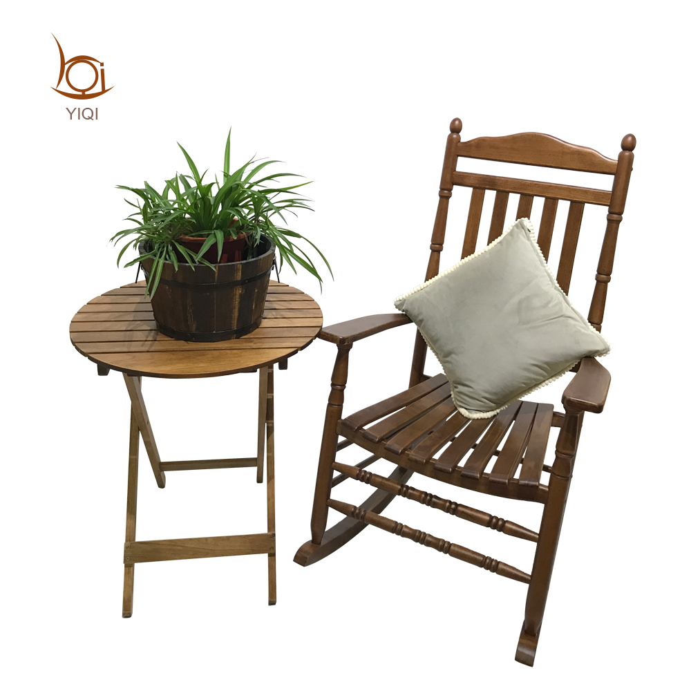 Outdoor Wooden Rocking Chair For Sale