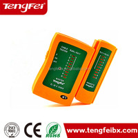 Made in China & One year warranty RJ45 RJ11 USB Telephone Line Tester cable tester
