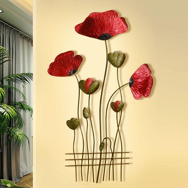 China Flower Metal Wall Art Wholesale 🇨🇳 - Alibaba