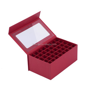 Gift box with PVC / PET window and compartments