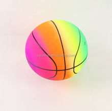 Rainbow color sport balls