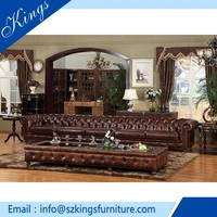 classical design leather sofa,curved leather sofa set,living room sofa furniture