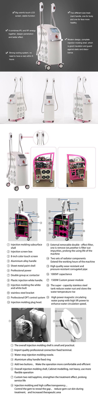 B6 Nieuwe Technologie Dpl Professionele Shr En Opt Technologie Ipl Ontharing Als Huidverjonging E Licht Schoonheid Machine