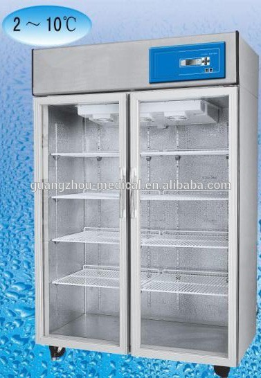 2 ~ 10 Degree Medical Vaccine Storage Refrigerator, vertical freezer