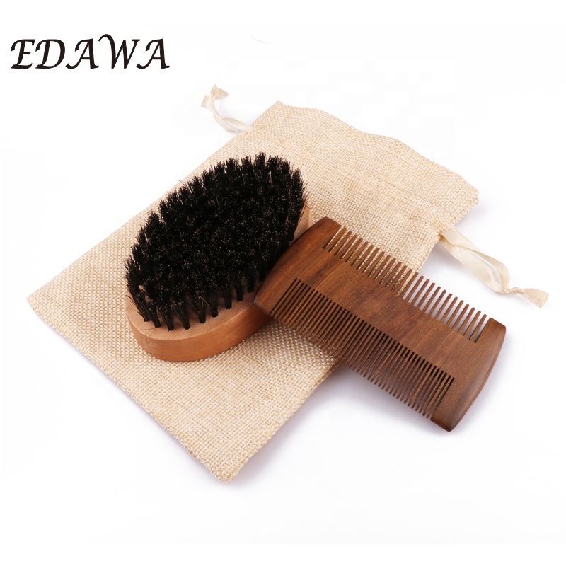 Fashionable private label grooming beard kit, Natural color