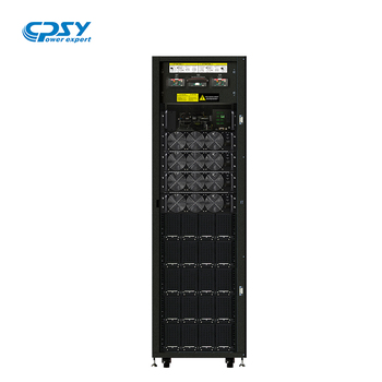 Large Power 3 Phase 90-300KVA UPS with LCD display, Parallel modular ups for data center