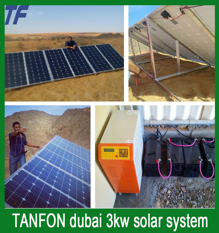Hot sale home-use roof 3kw solar hybrid home <strong>energy</strong> system for whole house <strong>energy</strong> 3kw solar system for Dubai