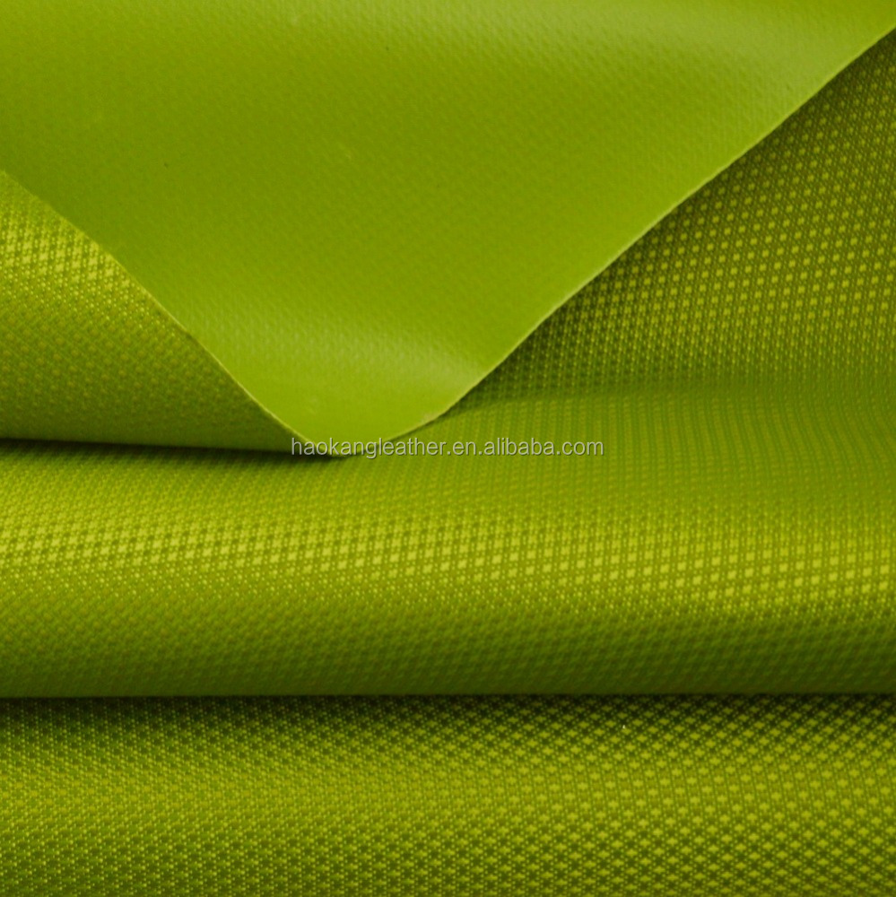 Backpack bag making polyester fabric material