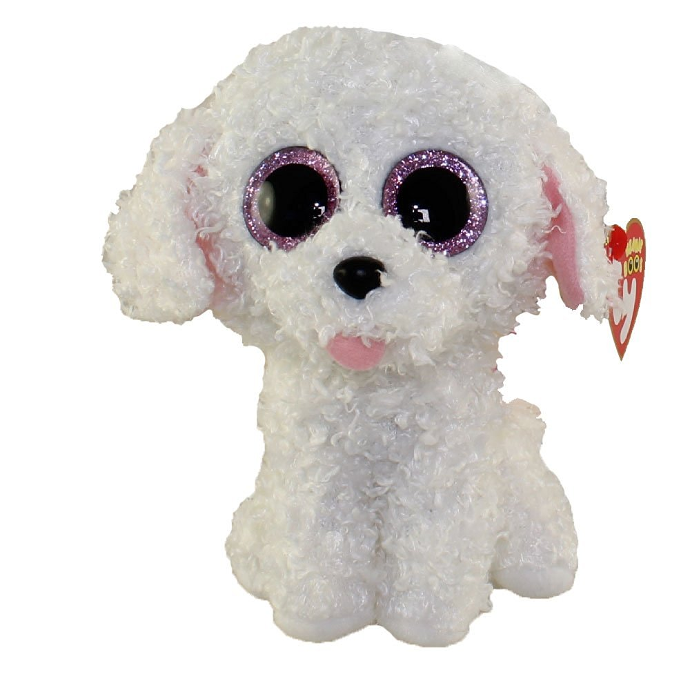 Get Quotations · New TY Beanie Boos Cute PIPPIE the White Bichon Dog Plush  Toys 6   15cm f232bc7ec4f7