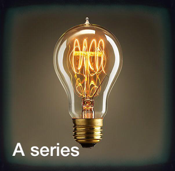 Edison Candle Flame Light Bulb C35 E14 25w 40w Decorative Filament ...