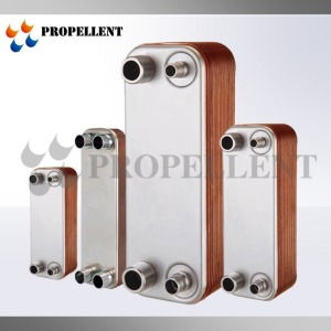 High Effiency air air conditioning water cooler brazed plate heat exchanger