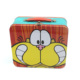 Custom Eco-friendly Rectangular Kids Tin Metal Lunch Box