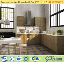 Luxury athens greece furniture designs kitchen cabinets solid wood handleless kitchen cabinet