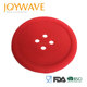 Round Silicone Coasters Cute Button Coasters Cup Mat