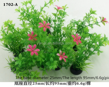 10Pcs Plastic Aquarium Plants Plantas fish aquarium decorations Artificial Plastic Water Plant for Aquarium