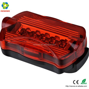 Super brightness 5 LED bicycle rear tail light water proof bike warning safety light