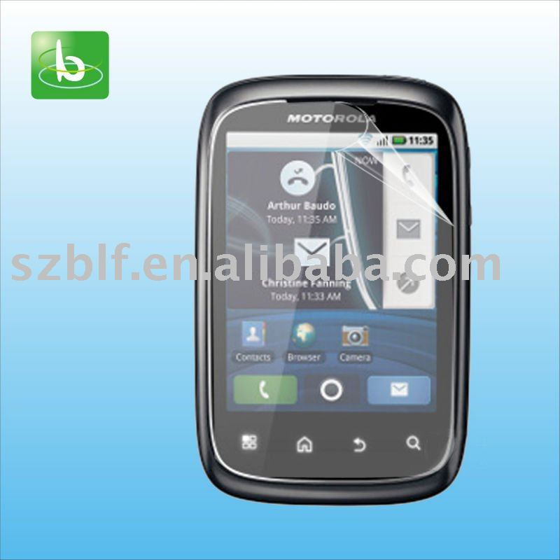 Clear anti-glare mobile scratch guard for Motorola XT300