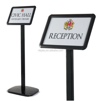 Black Freestanding Clip Frame A3 Display Stands Sign - Buy A3 ...