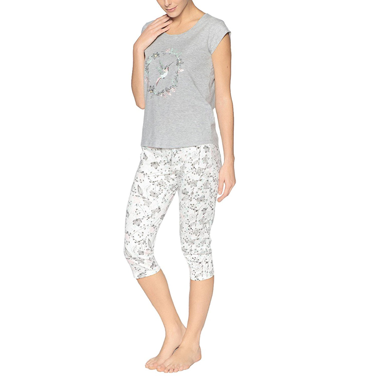 Get Quotations · La Redoute Collections Womens Printed Pyjamas 36703953f