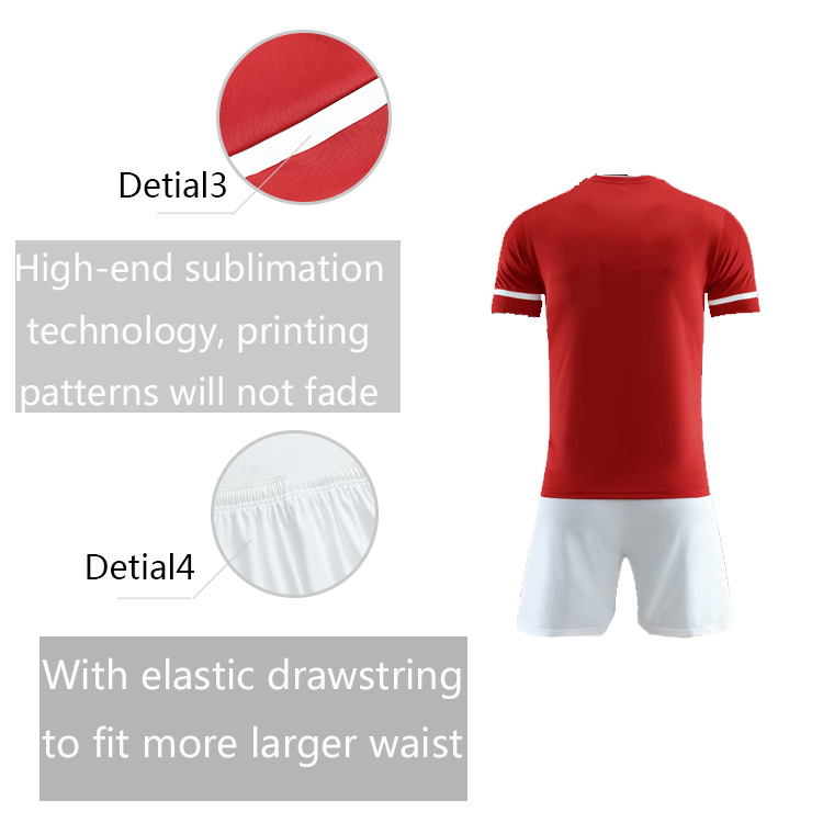 Customized comfortable and breathable Soccer Jersey