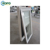 AS2047 Vinyl Blind Hand Crank Top-hinged Swing Window