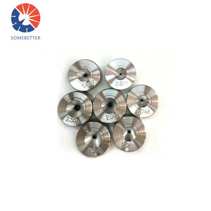 Tungsten carbide trimming dies for bolt (hexagonal) for making hexagonal nuts