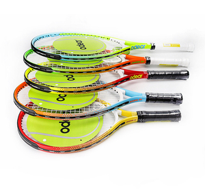 Odear Manufactory Wholesale Coloful and Different Sizes Cheap and Hot Sale Custom Print Junior Tennis Racket