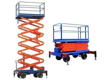 10m Hydraulic Skylift Mobile Manual Scissor Lift Platform - Buy Skylift  Product on Alibaba com