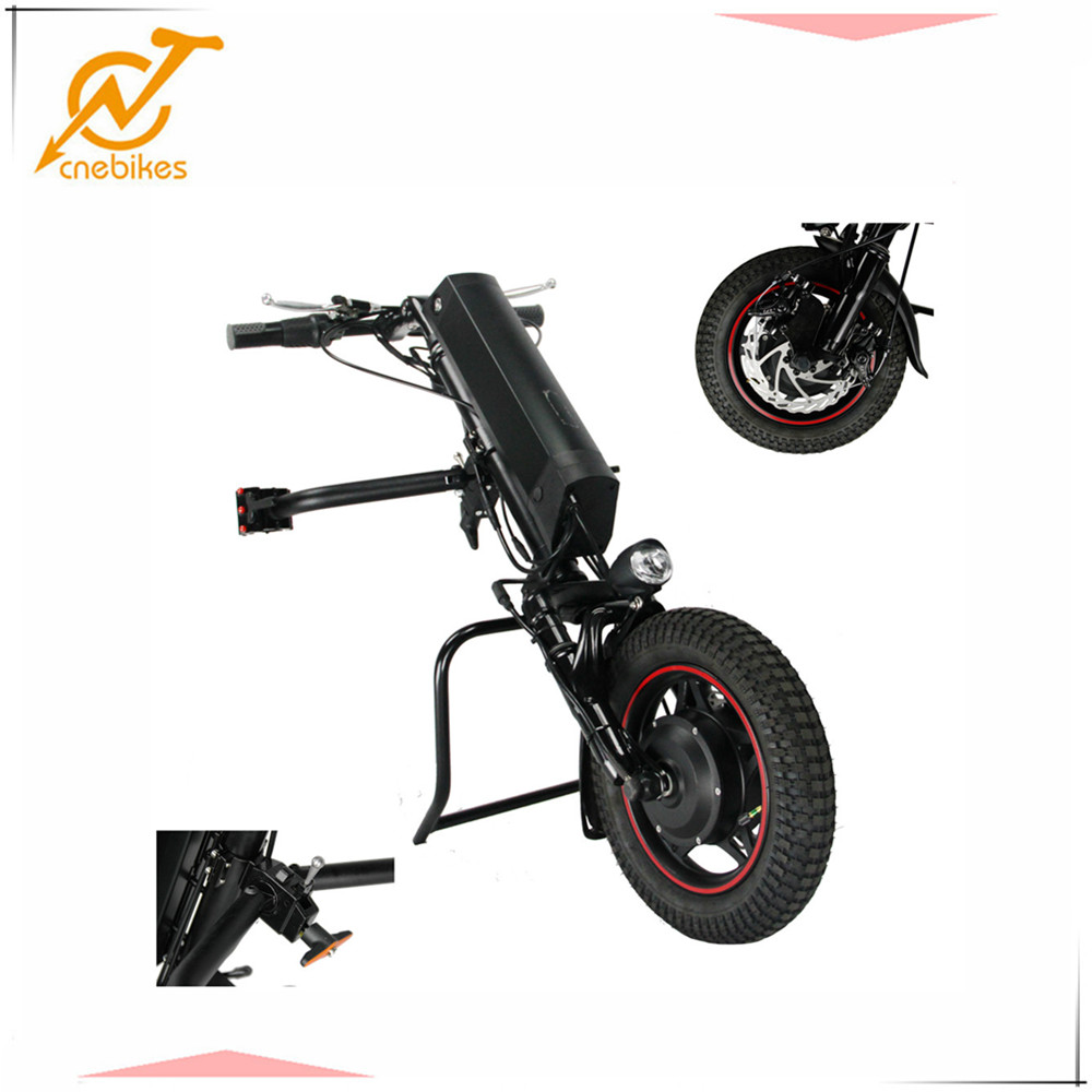 2018 newest CNEBIKES 36V 350W 11.6ah electric wheelchair handcycle with CE approved