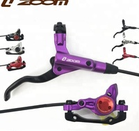 HB875 ZOOM Mountain Bike Hydraulic Disc Brake,Bicycle Oiling Cable Brake Set