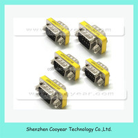 RS232 Gender Changer DB9 9pin male to Female VGA adapter Changer Adapter F-M VGA Male to VGA Female Connector Adapter