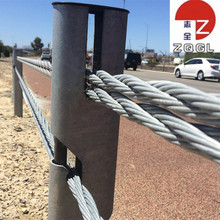 Highway Guardrail Steel Wire Rope Road Safety Barrier
