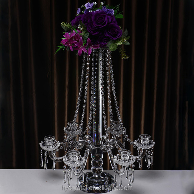 China diamond wedding centerpieces wholesale alibaba 2018 hot sale alibaba crystal candelabra wedding centerpieces in china junglespirit Choice Image
